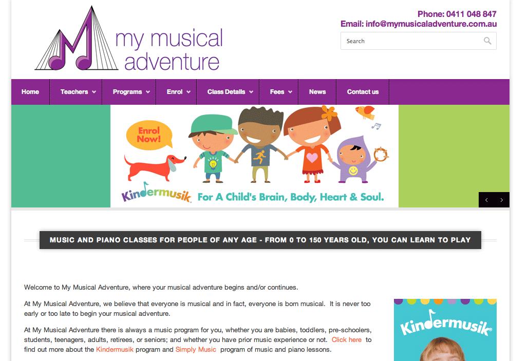 My Musical Adventure